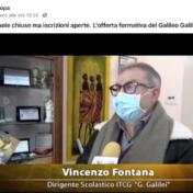Intervista al Dirigente dell'11/01/2021 – TV Europa