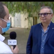 Interviste rilasciate a TV Europa e TRC dal DS